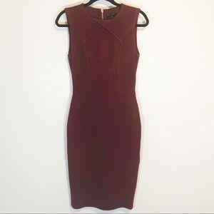 Ted Baker London Maroon Tarala dress size 2
